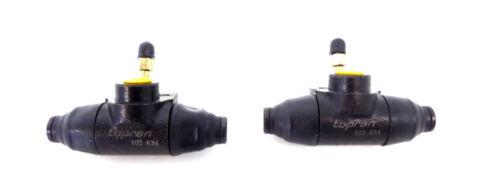 2x radbremszylinder cilindro de freno trasero para AUDI VW