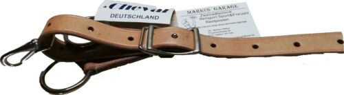 trainingsfork martingal marron clair naturel Westernmartingal