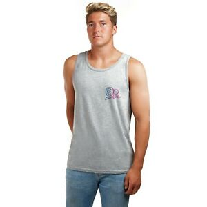 Ocean-Pacific-Fundido-con-el-logotipo-de-nucleo-con-licencia-oficial-para-Hombre-Chaleco-Gris-S-XXL
