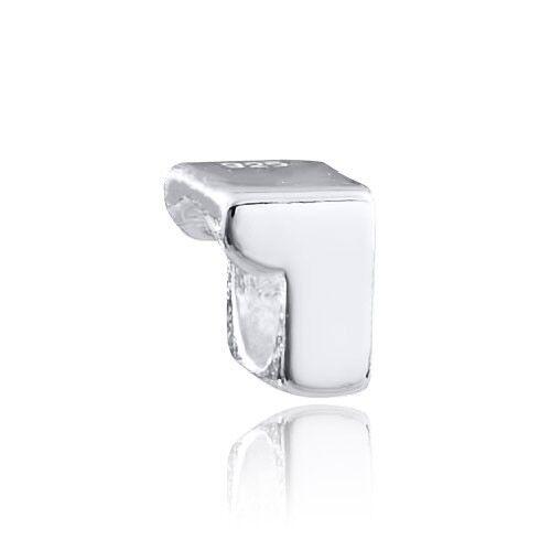 Materia 925 plata beads número 1-plata colgante para beads pulsera o cadena