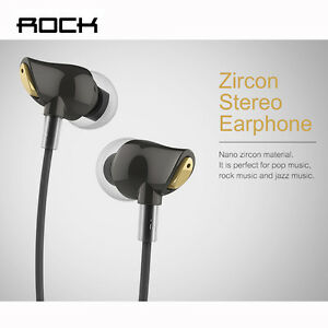 ROCK Zircon Stereo Earphone for iphone Sport Headphone Running Handfree Headsset
