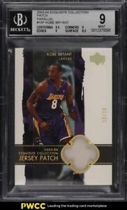 2003-Exquisite-Collection-Parallel-Kobe-Bryant-PATCH-10-10-15P-BGS-9-MINT