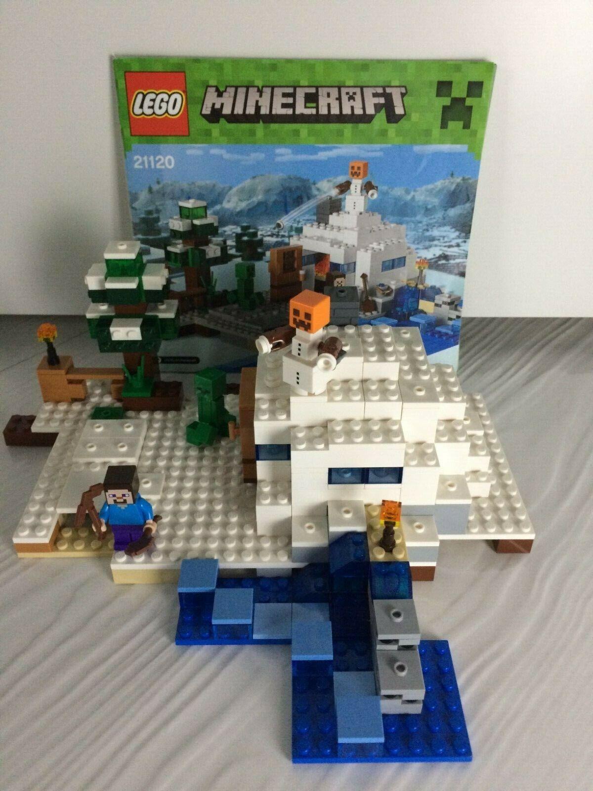 LEGO MINECRAFT The Skeleton Attack 21146 STEVE SKELETON HORSEMEN RETIRED SEALED