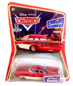 Mattel toys disney pixar cars 1st movie old school ramone die cast metal mib ebay - Juguetes disney cars ...