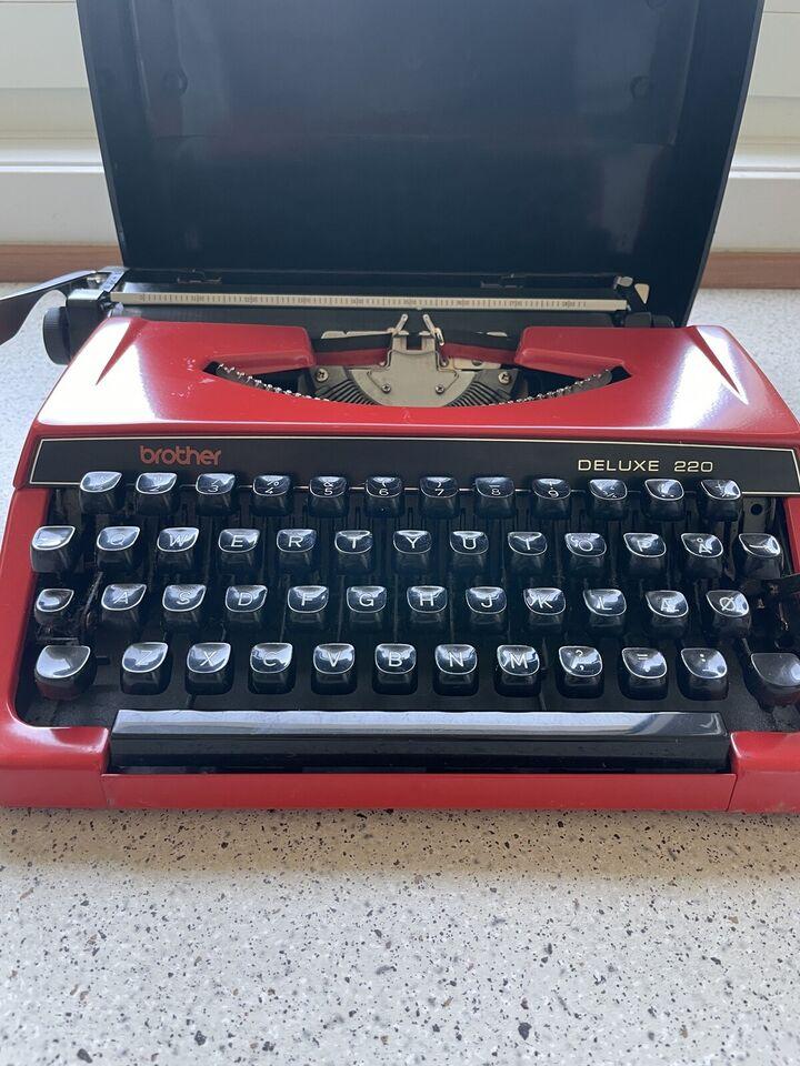 Brother Deluxe skrivemaskine