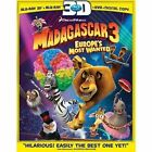 Madagascar 3 Europe's Most Wanted 2pc DVD BLURAY