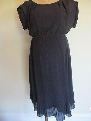 Maternity Satin Chiffon Flattering Pregnancy Dress Mamalicious CLICK FOR 40/% OFF