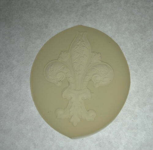 food use resin Fleur De Lis Ornament SILICONE MOULD polymer clay mold fimo