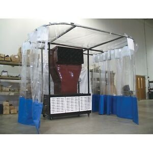 Portable Paint Booth >> Champ Portable Paint And Prep Station 4027 Ebay