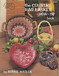 The-Country-Rag-Basket-How-To-Book-Bobbie-Matela-American-School-of-Needlework