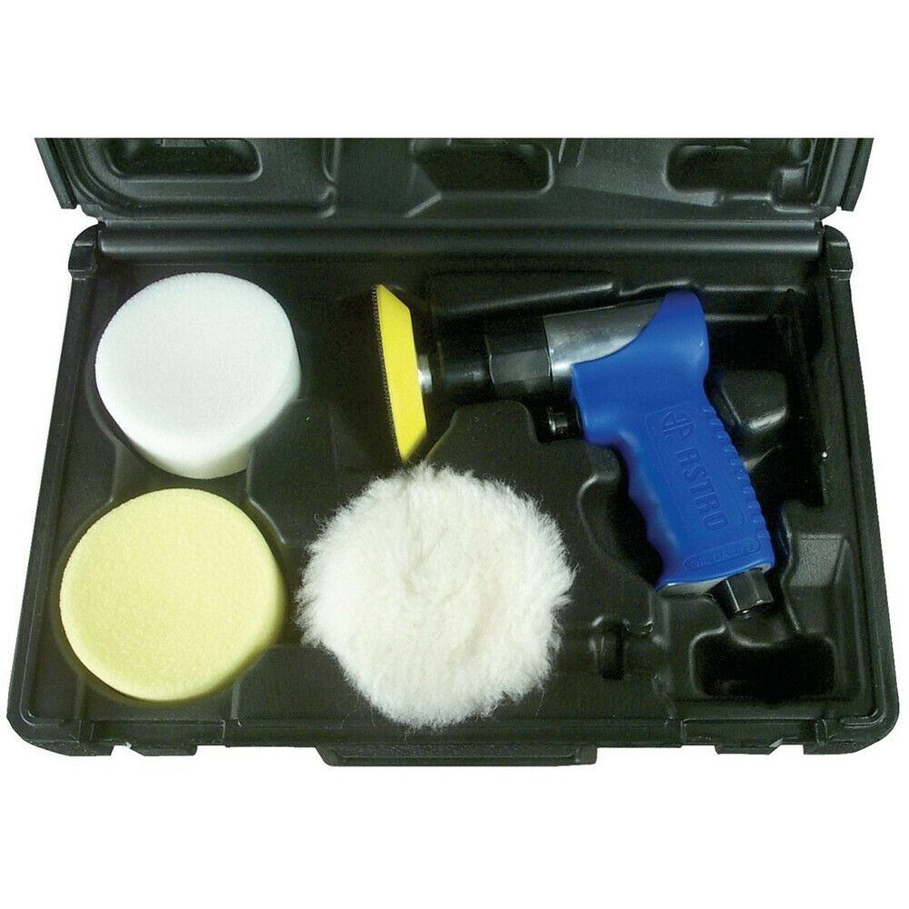 New Astro Pneumatic 3 in. Mini Air Polishing Kit 3055 New.