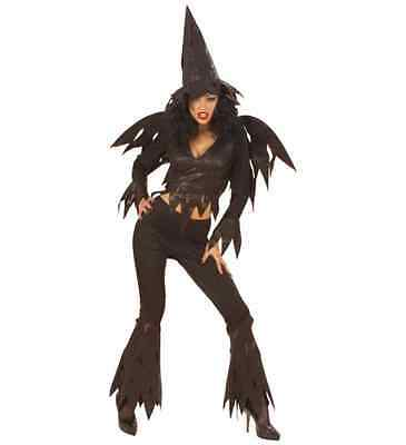 Costume Strega Rowdy Witch Halloween - Taglia S (40/42) Prezzo Moderato