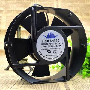 PROFANTEC P2175HBL-ETS Fan AC 230V 0.12A 172mm x 150mm x 51mm PL Leaf CONNECTOR