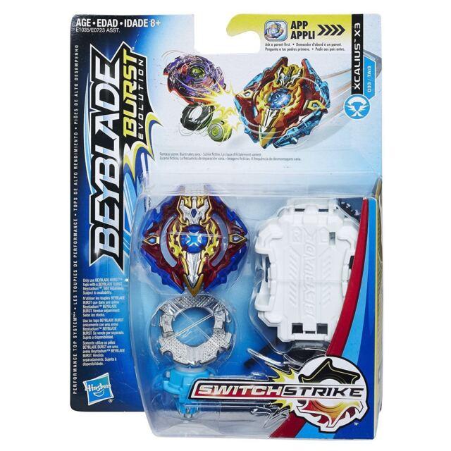 af3173762c Hasbro Beyblade Burst Evolution Xcalius X3 Switch Strike Toy for ...
