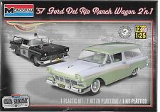 1:25 Revell 85-4193 - '57 Ford Del Rio Ranch Wagon 2 'n1 - Plastic Model Kit NEW