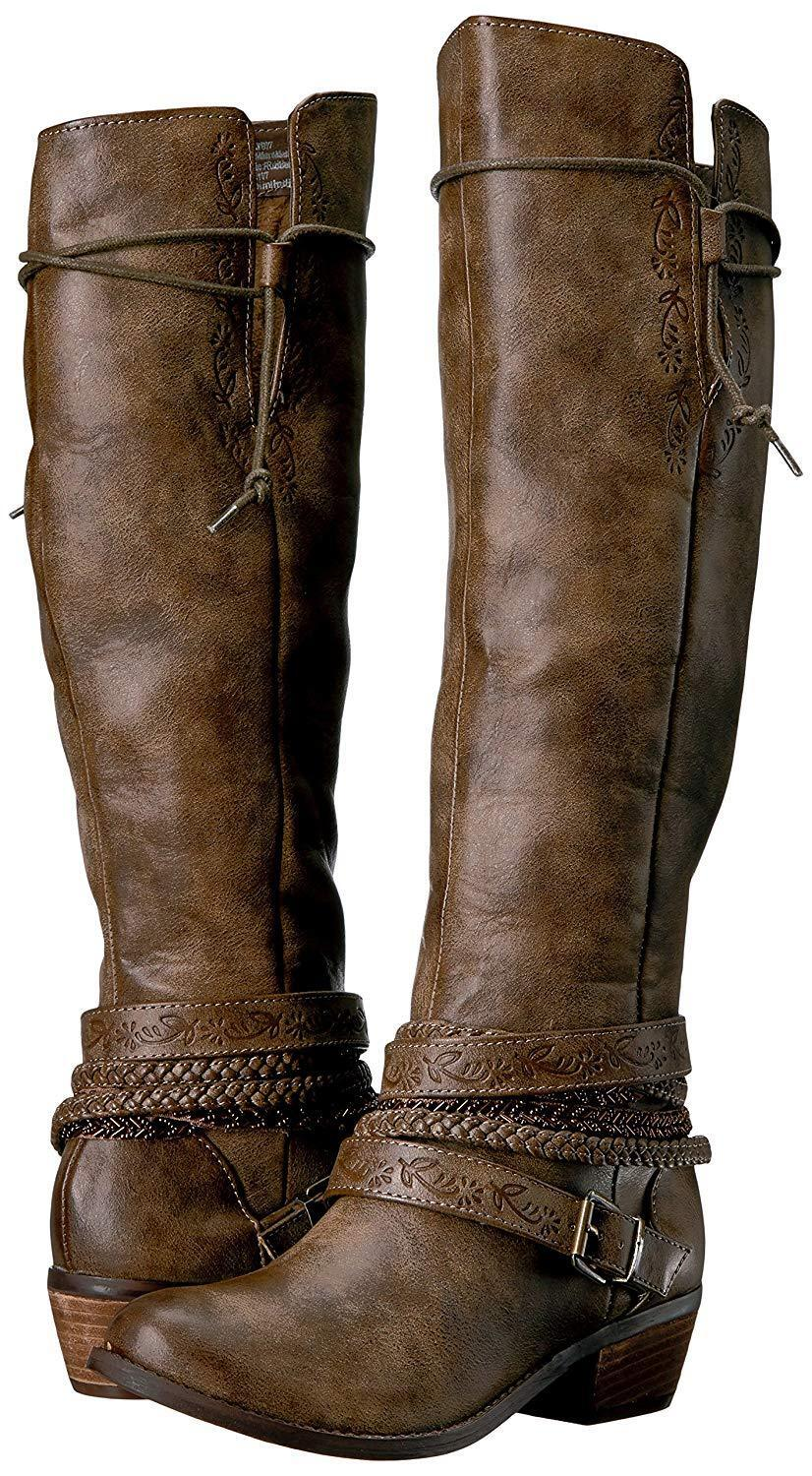Not Rated Womens Jurupa Tall Riding Boot