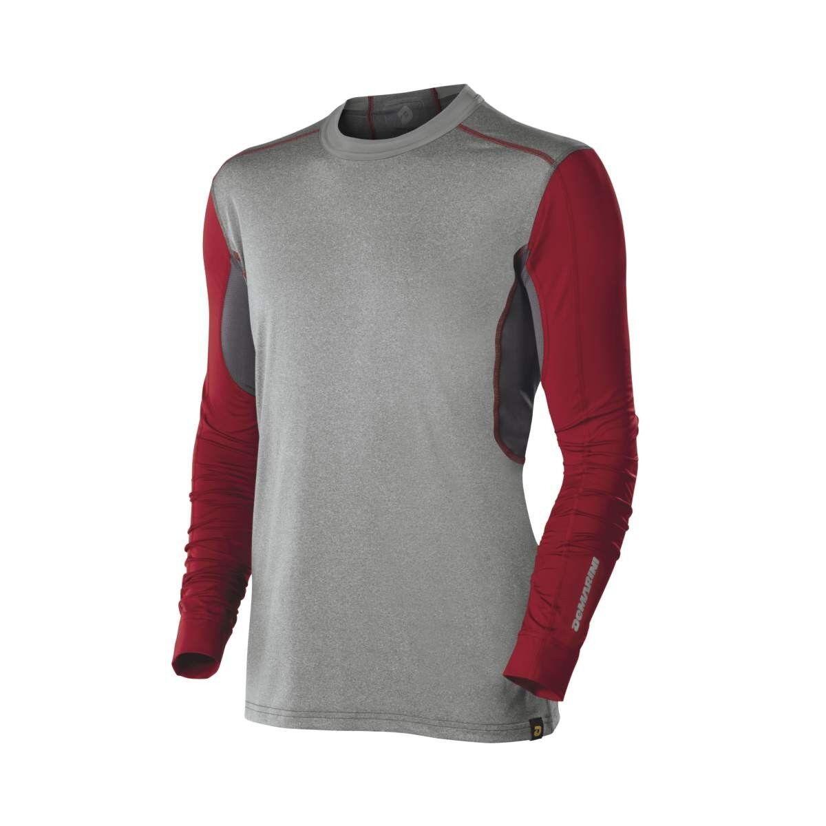 Demarini Comotion Juego Day  Para Hombre Manga Larga Camisetas gris Rojo Grande WTD100229LG  centro comercial de moda