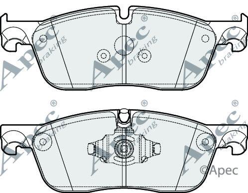 Brand New Apec Front Brake Pad Set PAD2116-12 Months Warranty!