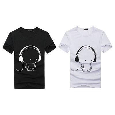 Homme Fashion T-shirt Et Manches Courtes Col En Rond  Mieux