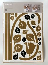 IKEA Slatthult La Cocotte Folk Tree Wall Stickers Decals Branches Leaves  Bird
