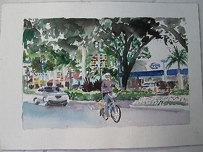 """FL // W//C Print // 10/"""" x 14/"""" Hollywood image 7 1//2/"""" x 11 1//2/"""" Hollywood Beach"""