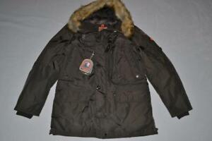 AUTHENTIC-PARAJUMPERS-KODIAK-ECO-MEN-PARKA-BUSH-2XL-XXLARGE-BRAND-NEW