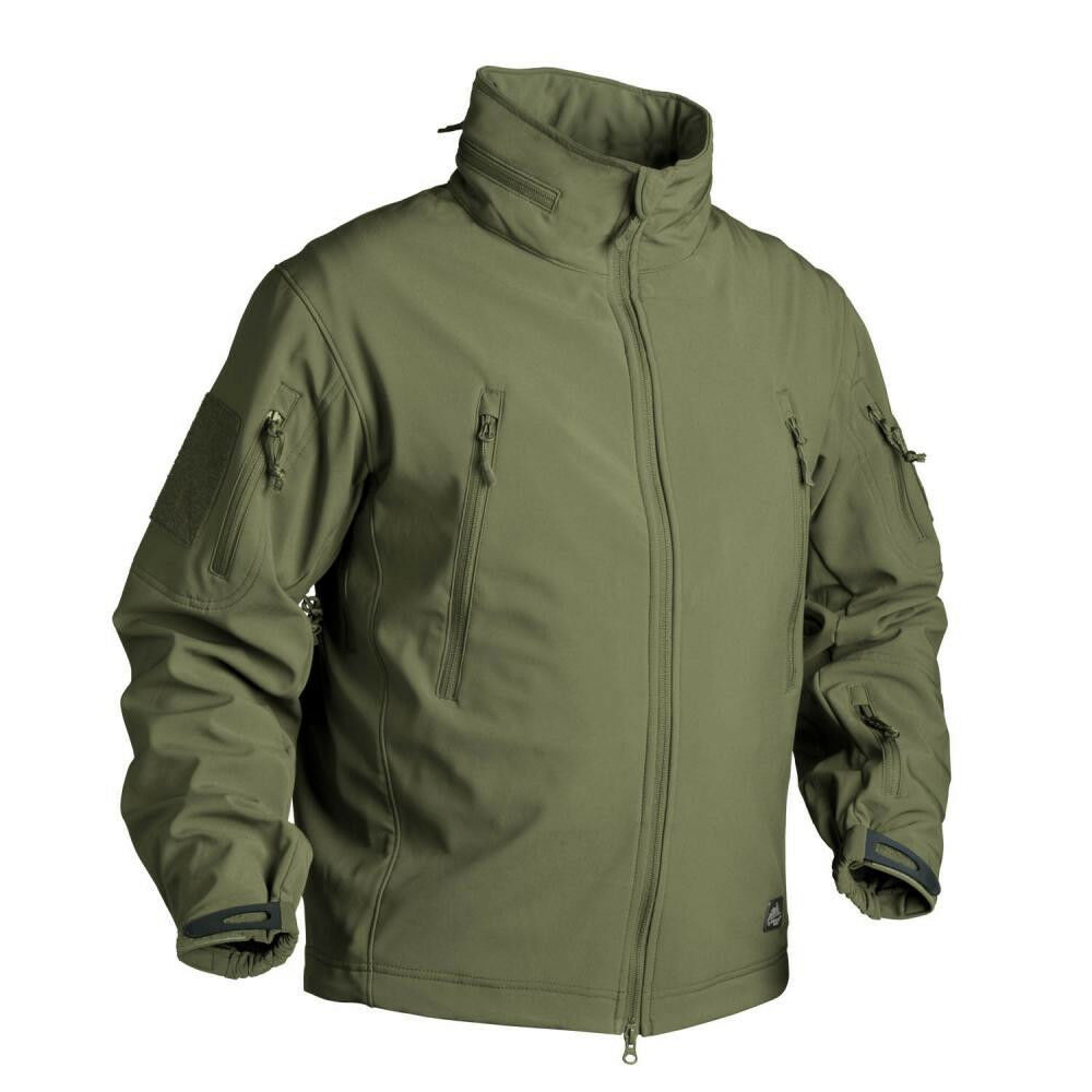 Helikon Tex Gunfighter Softshell Coupe-Vent Outdoor Veste Olive XS XSMALL