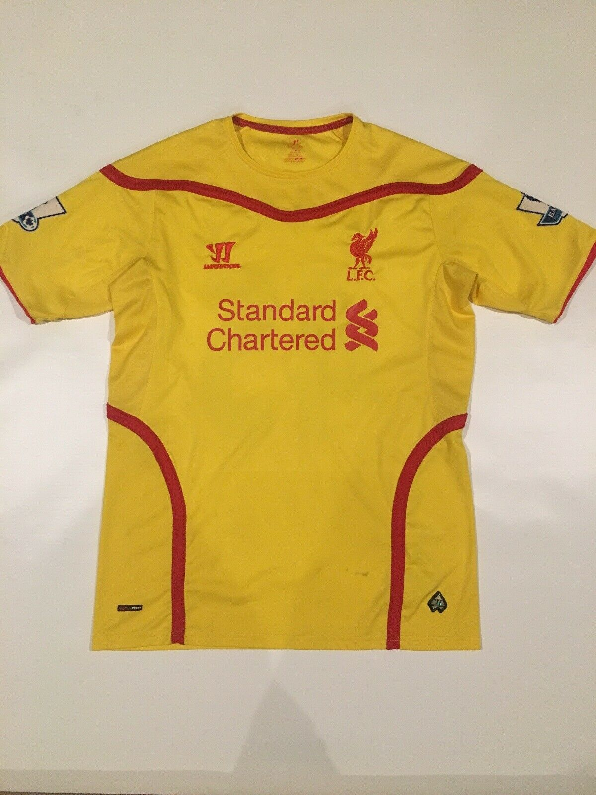 201415 Liverpool Away Jersey  45 BALOTELLI Warrior Short Sleeve gituttio Sz M