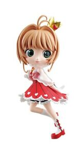 Qposket-Card-Captor-SAKURA-Figure-Kinomoto-Sakura-Red-Japan-Banpresto-F-S-NEW