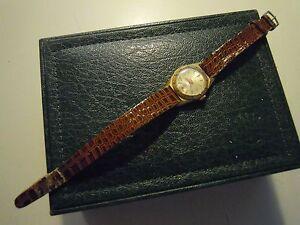"Orologio Da Polso "" Waldman "" 17 Jewels Swiss Made s-o-11 Profit Small"