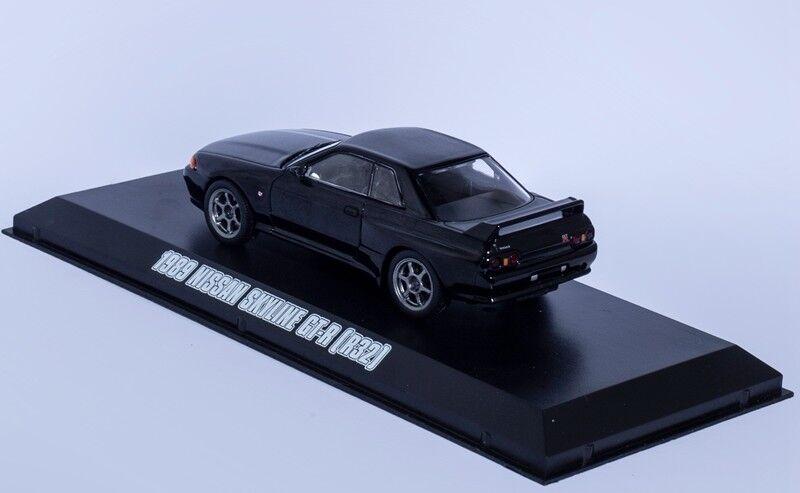 1 43 1989 NISSAN SKYLINE GT-R R32 Hollywood Fast & Furious Film Greenlight Model