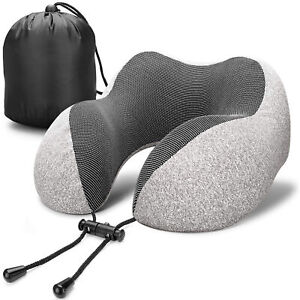 Memory-Foam-Rebound-U-Shaped-Travel-Pillow-Car-Cushion-Neck-Support-Head-Rest-US