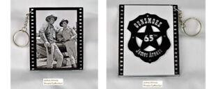 James Arness Marshal Dillon Official Gunsmoke 65th Anniversary Photo Key Chain#4