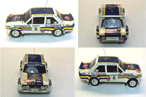 Fiat 131Abarth ROTHMANS Decal Rally ORENSE 1982