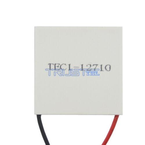 New 12V TEC1-12710 Heatsink Thermoelectric Cooler Peltier Plate Module USA.