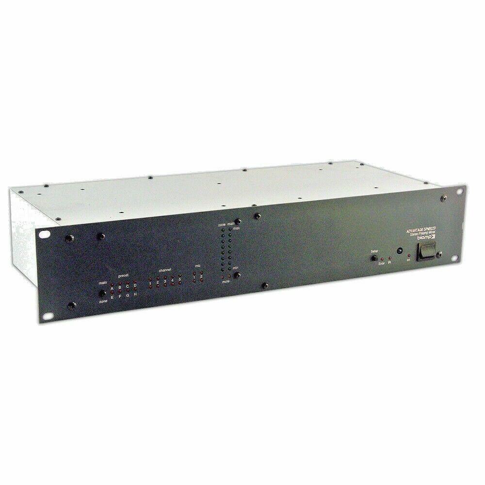 BIAMP Rack Mount Stereo Preamp Mixer Advantage SPM522D