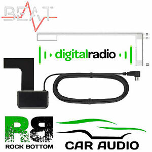 BLAUPUNKT-Car-Radio-Stereo-Glass-Mount-DAB-Digital-Replacement-Aerial-Antenna