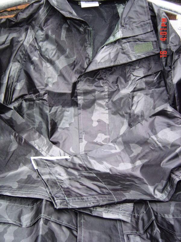 Camuflaje De Combate Nuevo Impermeable Chaqueta Camoflaged M L Xl Costuras Selladas