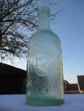 1 PINT BEER SODA VINTAGE ANTIQUE OLD GLASS BOTTLE R.L.JONES MANSFIELD c1915 IKEA