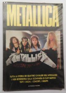 METALLICA-BIOGRAFIA-ITALIANA-DI-PAOLO-PICCINI-LIBRO-BOOK-BIG-PARADE-1988