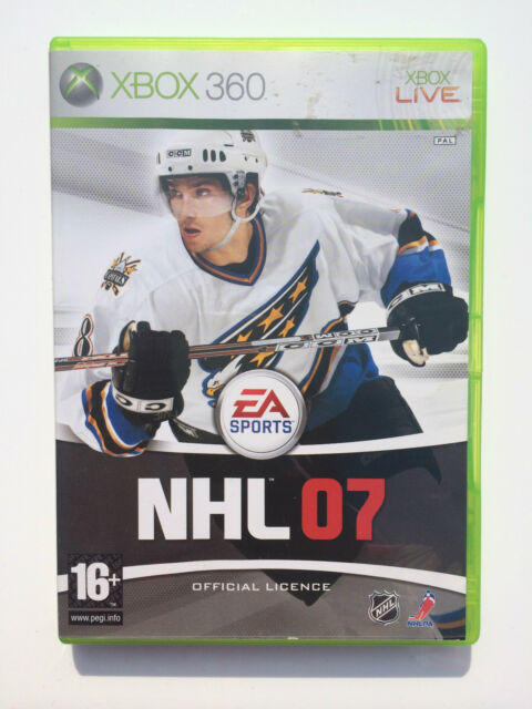 NHL 07 (no manual) pour Xbox 360