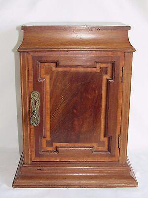 Armadietto Dell Altare.05d68 Antique Small Furniture Desk Closet Church Priest Wood Inlay Xix And Ebay