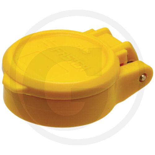 """1x sistema hidráulico /_ protección tapas /_ amarillo /_ polvo tapas de protección /_ 1//2/"""" /_ schnellkuppler /_/_/_/_/_/_/_"""