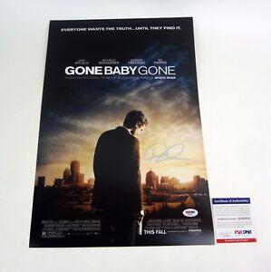Dennis-Lehane-Author-Signed-Autograph-Gone-Baby-Gone-Movie-Poster-PSA-DNA-COA
