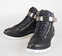 New. Giuseppe Zanotti Blitz Lindos Vague Hi-top Sneakers Shoes 7 Us 40 Eu $995 on sale
