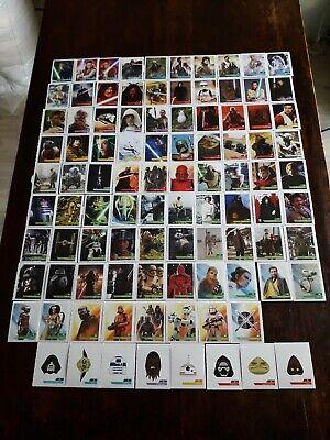 STAR WARS Leclerc 2019  la Collection Complète de 96 cartes