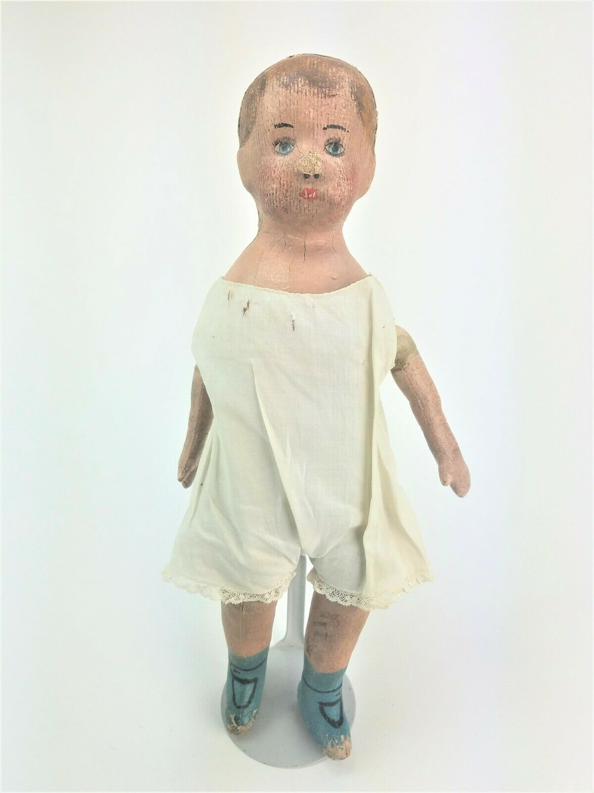 Antique Alabama Baby Oil Cloth Doll ca1880