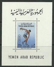 YEMEN. 1964. Olympic Games, Tokyo Miniature Sheet. SG: MS 280a. MNH.