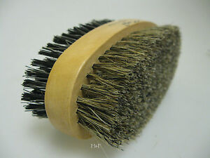 Gents-Boar-Bristle-Twin-Sided-Hair-amp-Beard-Grooming-Brush-Hard-amp-Soft-Bristles