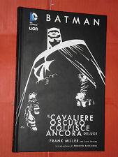 BATMAN-IL CAVALIERE OSCURO COLPISCE ANCORA- DELUXE- cartonato: FRANK MILLER-LION